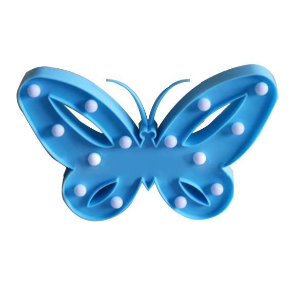 Butterfly children table light
