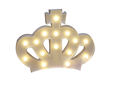 Crown kids table light birthday gift