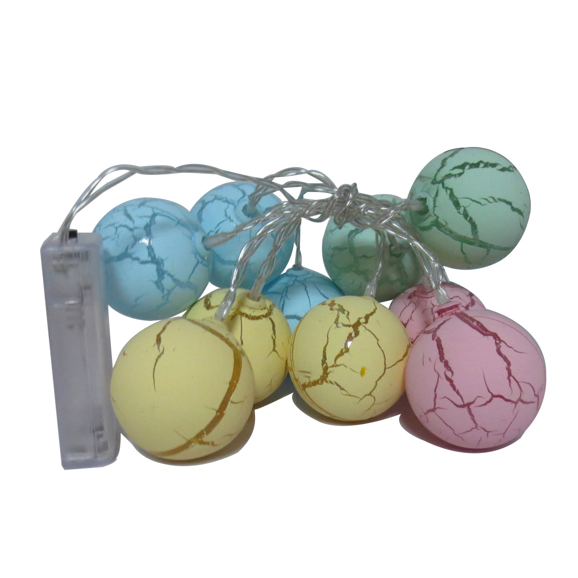 Crack ball led fairy string