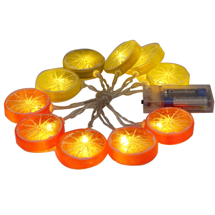 Lemon slice led fairy string