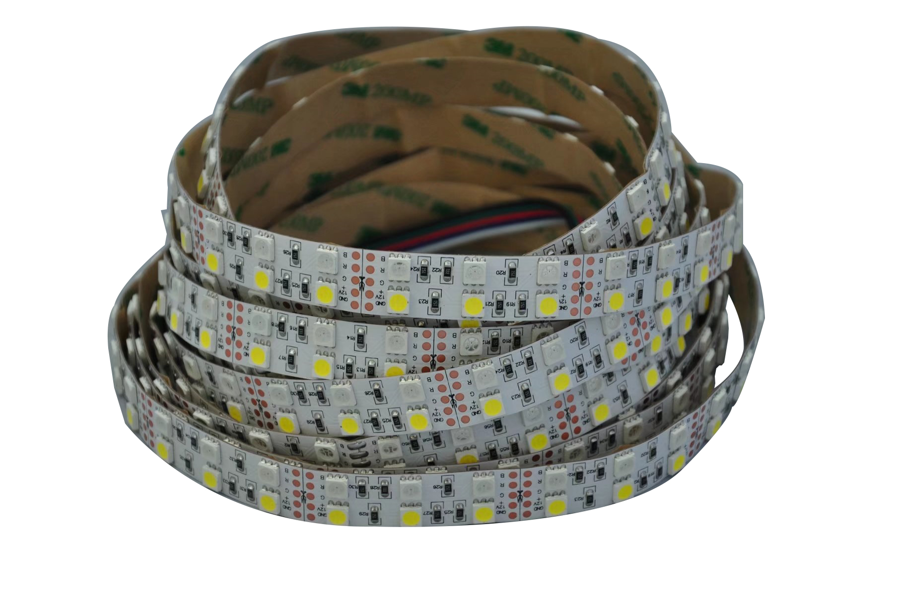 RGB+W SMD5050 led strip 120LED/M