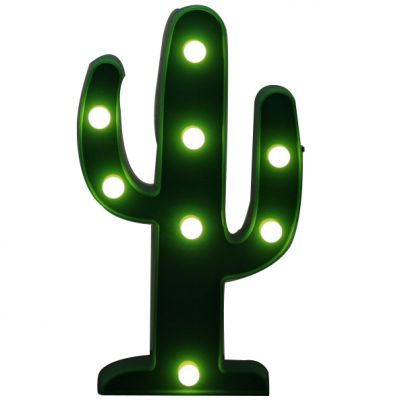 Cactus led marquee light