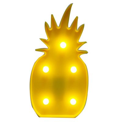 Pineapple led marquee light