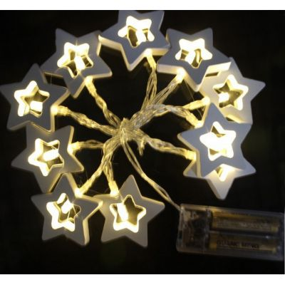 MDF star led decorative string