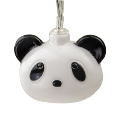 panda string lights home decor lights